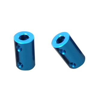 Wholesale shaft motor flexible coupling coupler for sale - Group buy 2Pcs Flexible Shaft Coupling Rigid Coupler Motor Connector mm mm