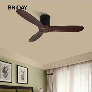 Wholesale ceiling fans 42 for sale - Group buy 42 inch ceiling fan industrial vintage wooden ventilator with no light Remete control decorative blower wood retro fans