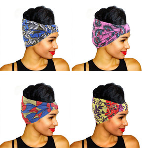 Wholesale yoga for face resale online - New Sports Yoga Hairbands African printed Headbands Gym Wash face Hair Band For Women Hairs Accessories