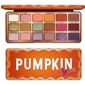 NEW ARRIVAL 18 Colors Eyeshadow Palette TO FAC Orange Pumpkin Color Eyeshadow 2020 Christmas Limited High Color Rendering Makeup