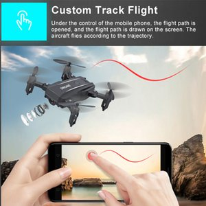 Wholesale control definition resale online - M9 four axis mini folding UAV gesture photography WiFi high definition aerial remote control aircraft children s toys