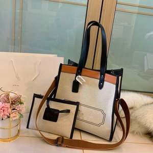 Wholesale children linen resale online - Popular designer design high quality new fashion casual atmosphere super practical mother child bag handbag shopping bag