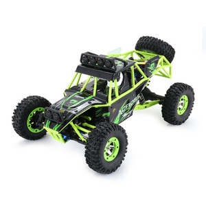 Wholesale boat remote controlled resale online - WLtoys G WD Crawler Remote Control RC Car With LED Light Two Battery Buggy Vehicle with LED Light