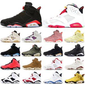 Wholesale harvest gold for sale - Group buy Black Infrared s Jumpman Basketball Shoes DMP Hare Washed Denim Sail Brown UNC Black Cat Golden Harvest Mens Trainers Sport Sneakers