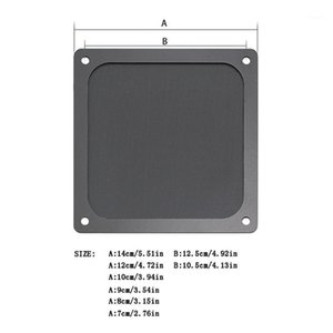 Wholesale net guard resale online - Magnetic Dust Filter Dustproof Mesh Cover Net Guard for PC Computer Case Fan WXTA1