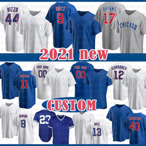 ingrosso kyle schwarber-9 Javier Baez Anthony Rizzo Personalizzato Baseball Jersey Kris Bryant Ryne Sandberg Yu Darvish Kyle Schwarber Contreras Bote Dawson Lester