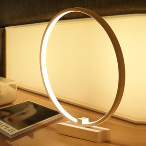 Wholesale simple bedside table lamps for sale - Group buy Modern Style Household Simple LED Eye Table Lamp Bedroom Living Room Study Bedside Lamp Lighting White