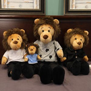 Wholesale toys lion king for sale - Group buy 70 cm full size Minomi lion Stuffed Doll Plush Animal high quality Toy Lee MinHo king lion special Gift for fans friends