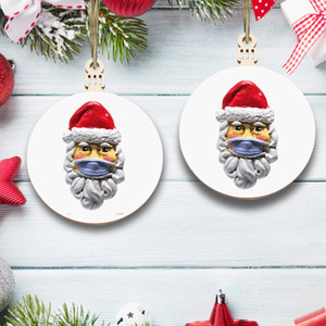 Wholesale personalized ornament resale online - Christmas Ornaments Hanging Decoration Gift Product Personalized Family Christmas Tree Pendant GGB2346