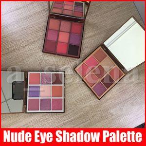 New Eye Makeup 9 Colors Nude Eyeshadow Palette Matte Shimmer Pressed Eye Shadows Palettes Light Medium Rich 3 Styles