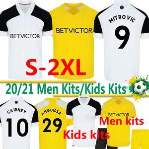 20 21 MITROVIC soccer jerseys CAIRNEY FC 2020 2021 SERI I.CAVALEIRO ANGUISSA LEMINA Knockaert men kids kit FOOTBALL SHIRTS uniforms