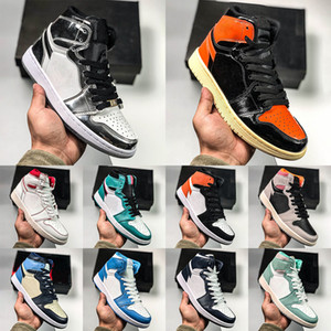 chaussures de basket achat en gros de-news_sitemap_homeMens UNC Basketball Shoes Turbo Green High Quaility Mid OG s Women Banned Bred Chicago Black Toe Court Purple Storm Blue Premium Sneakers