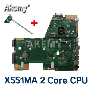 Wholesale intel laptop motherboards cpus for sale - Group buy Amazoon X551MA Laptop motherboard For Asus X551MA X551M X551 F551MA D550M Test original mainboard Core CPU N2840