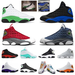 Wholesale 13 fishing for sale - Group buy Jumpman s men basketball shoes Red flint Hyper Royal DMP Dirty Bred Starfish Cap and GownIsland GREEN trainers sports sneakers