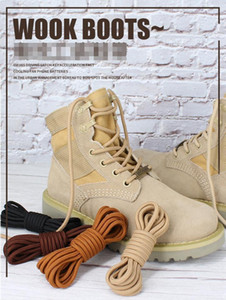 Wholesale rope boots resale online - tim Martin boots lace rope men womens work clothes round thick long sports basketball shoes military shoe black white brown khaki ad4d17e9