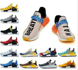 chaussures de sport les plus vendues achat en gros de-news_sitemap_homeTop Selling Human Race Trail Chaussures Hommes Femmes Pharrell Williams Yellowms Yellow Ink Core Noir Black Rouge White Running Casual Shoes Sneakers