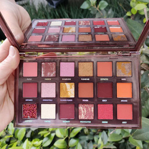 Wholesale nude eye shadows resale online - Makeup Beauty Naughty Nude eyeshadow Palette Shimmer Matte NUDE color eye shadow palette Hot Cosmetics