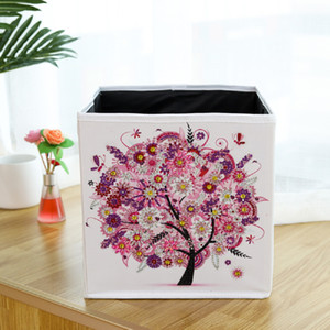 2021 New Storage Boxes With Special-Shaped Diamond With Manual DIY With Creative Household Items For Desktop Bins