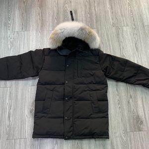 Wolf Fur Men Winter Jacket Men's travel Parka Down Jacket Long Parka Puffer Coats Warm Overcoat Jaqueta coats outwear winterjacke Doudoune