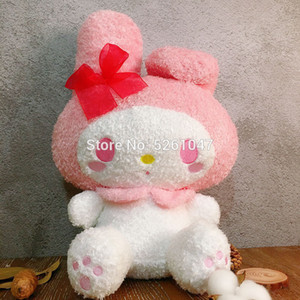 Wholesale my melody resale online - Fluffy My Melody Plush Doll Cute Rabbit Stuffed Animal Toy cm Rare Kid Gift LJ201126