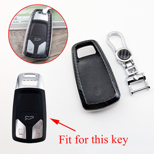 Wholesale parts for audi resale online - ABS Remote Key Case Holder Fob Bag Protector Cover Trim Part Fit For Audi A4L A4 Q5 Q7 S3 S5 TT TTS TTRS Accessories