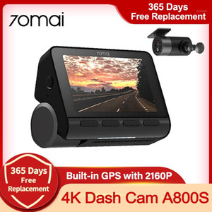 Wholesale 24 hours recording camera for sale - Group buy 70mai K A800S Dash Cam ADAS Real K Camera Car DVR Built in GPS Dual Vision Record Hours Parking Record Night Vision1