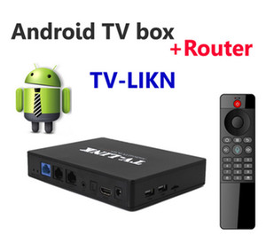 андроид интернет wifi tv box оптовых-Последние TVBOX Android Mar Router Modem Modem TV Link ГБ ГБ LAN WiFi Smart TV Box STB Google Internet Youtube K Media Player TV Box