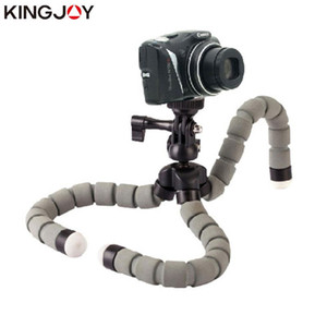 Wholesale smartphone tripod stand resale online - Kingjoy Official KT S Mini Tripod Octopus Para Movil Flexible Mobile Celular Holder For Phone Camera Smartphone Stand