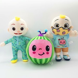 Wholesale chritmas gifts resale online - Cocomelon Pillow Soft Toys for Baby Plush JJ Doll Educational Stuffed Toys Kids Gift Cute Toy Chritmas Gift