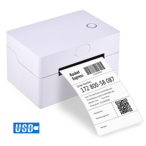 Wholesale printer s for sale - Group buy Desktop Shipping Label Printer mm s High Speed USB Thermal Printer Label Maker Sticker Max mm Paper Width for Express
