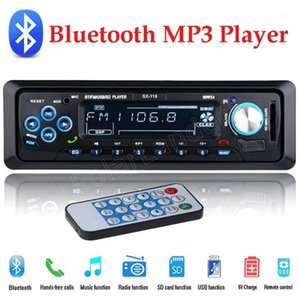 Wholesale best usb music player resale online - Car Radio V bluetooth handsfree Din Stereo MP3 USB SD AUX FM Audio Player music remote control best price sale1