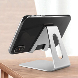 Universal Mobile Phone Holder Stand for X 8 7 6 5 Plus Aluminium Alloy Metal Tablet Holder for Phone ipad Stand