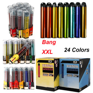 2000 Puffs Bang XXL Disposable Vape 6 ml Device Pods 800mAh Empty E Cigarettes Starter Kits 24 Colors
