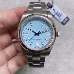 Wholesale ice wristwatches resale online - 2020 U1 Factory Mens Watch Automatic Mechanical Sapphire Glass Solid Stainless mm Fashion Iced Blue Dial Men Watches Male Wristwatches