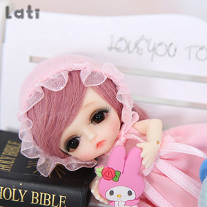 Wholesale bjd sd girl resale online - Lati White Belle BJD SD Doll Resin Figures Body Model Baby Girls Boys Toys Eyes High Quality Gifts Oueneifs luodoll Y0112
