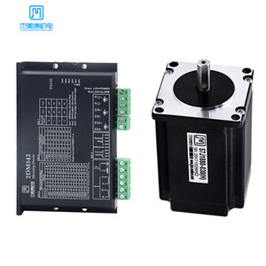 Wholesale lead driver for sale - Group buy JMC V DC Stepper Motor Driver Nema A Nm Leads Digital Stepper Motor DM542 J1880 for CNC Engraving Machine