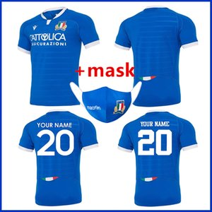 2020 ITALY RUGBY HOME RUGBY JERSEY Italy HOME TRAINING JERSEY size S-M-L-XL-XXL-3XL-4XL-5XL