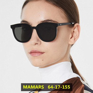 Wholesale korean large sunglasses resale online - 2021 New Korean Design Sunglasses Women Trendy GM Large Frame Sunglasses Men Vintage Gentle Sun glasses Original Package MAMARS