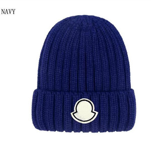 Wholesale letter blocks resale online - 2020 block Embroidery Beanie Skull Caps knitted cashmere thick warm couple lovers parent child hats tide street hip hop wool cap Adult