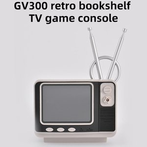 Wholesale kids bookshelf for sale - Group buy Mini TV Design Game Console GV300 Retro Bookshelf Protable Games Box With G Wireless Controller Handheld Game Player for Family Kids Gift