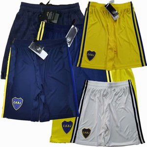 Wholesale junior s for sale - Group buy 2019 Boca juniors Soccer Shorts DE ROSSI CARDONA TEVEZ home away rd th football Sports shorts pants S XL