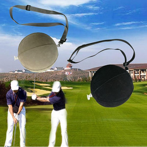 PVC Foam Golf Practice Ball Inflatable Impact Ball Swing Trainer Posture Rainbow Sponge Indoor Golf Training Accessories