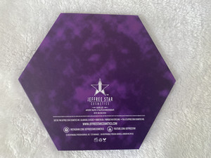 J Star Brand Newest 18colors shimmer and matte eyeshadow Blood Lust Puple eyeshadow Palette Cosmetic Artistry Palette