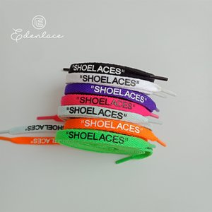"""SHOELACES Flat Laces With Zip Tie Red Strap Colorful Tag Plastic Off Shoes Silicone Printing Shoelaces Cheap Custom 4 Color in 54"""" 137cm"""