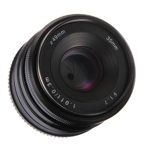 Wholesale sony mirrorless camera for sale - Group buy 35mm f MF Manual Focus Prime Fixed Lens APS C for Sony NEX E mount NEX3 N T A6000 A6100 A6300 A9 Mirrorless Cameras