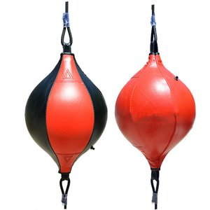 Wholesale boxing speed ball bag resale online - PU Punching Bag Boxing Speed Ball Inflatable Double End Boxeo Muay Thai Boxing Bags Reflex Fight Ball Sports Fitness Equipments