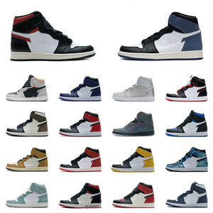 Wholesale hi basketball shoes for sale - Group buy Mens Basketball Shoes s High Top Hi TS SP Neutral Grey Obsidian Smoke Grey Tie Dye UNC Gym Red Pine Turbo Green Japan Sahdow Sneakers