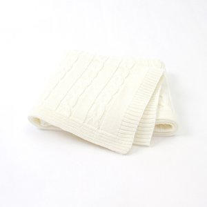 Wholesale bedding for toddlers resale online - MOTOHOOD Baby Blanket Knitted Woolen Newborn Blankets Super Soft Wrap Infant Swaddle Kids Stuff For Monthly Toddler Bedding LJ201204