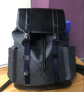 Wholesale man backpacks resale online - Genuine Leather Double Shoulder Bags Backpack for Men and Women Excellent Quality School Bags Designer Backpack High Quality