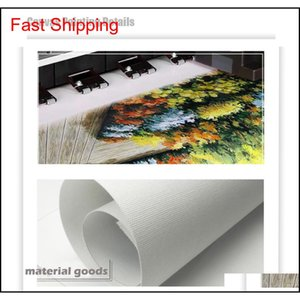 Wholesale room painting colors for sale - Group buy Wangart Abstract Colors Unreal Canvas Poster Blue Landscape Wall Art Painting Living Room Wall Hanging Modern qylpIc homes2011
